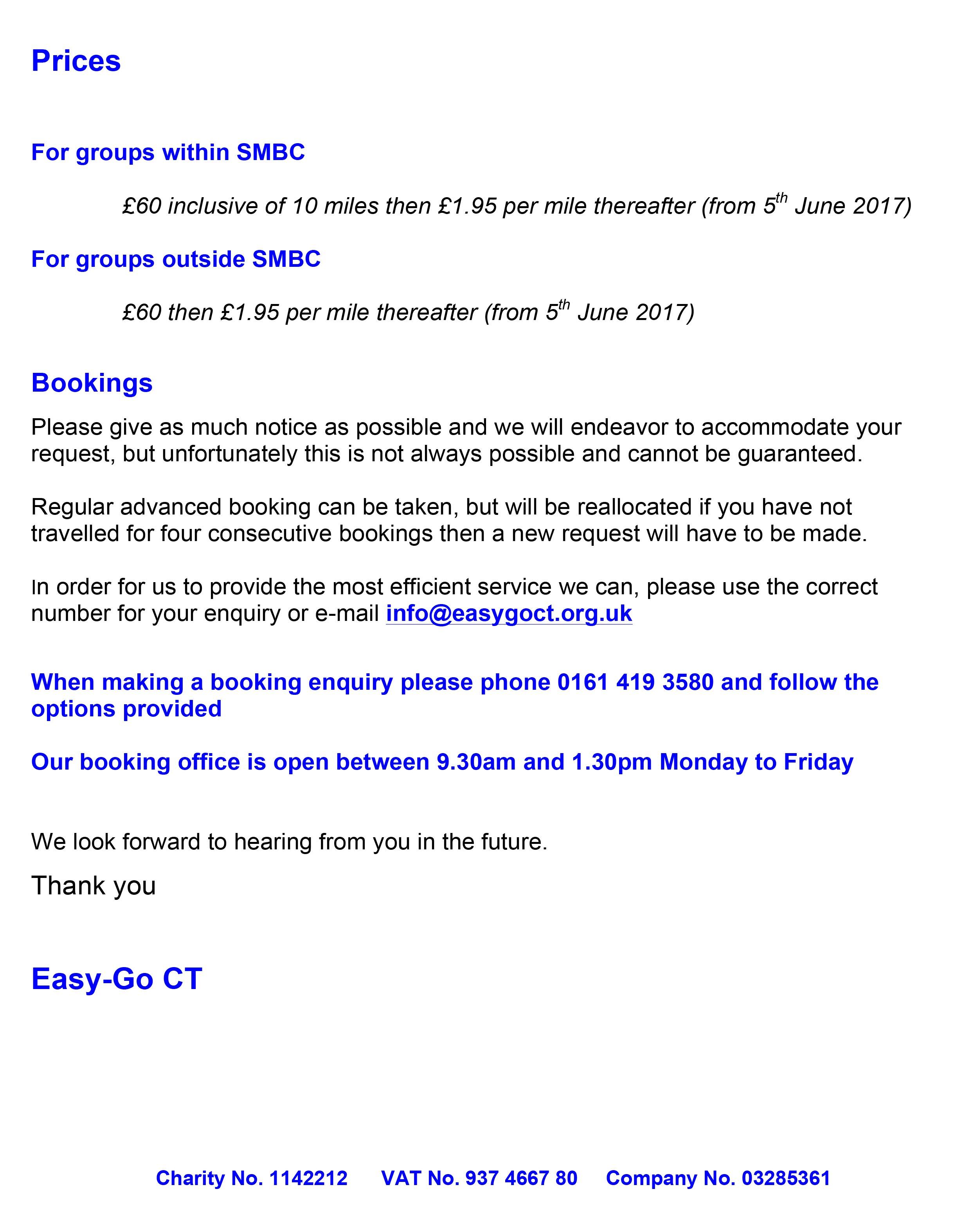 Easy Go CT - Stockport   Group Membership Letter